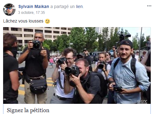 zzzla meute pétition de boulianne