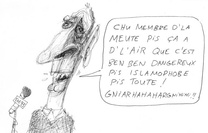 z2 caricature d'Alex Fatta