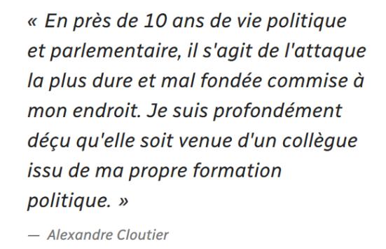 z4c Cloutier menacé