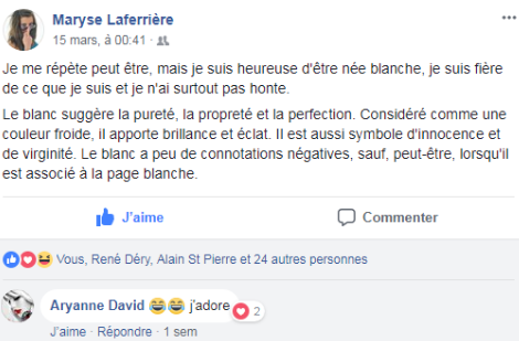 z4b Laferrière suprémaciste