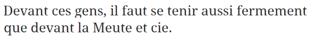 z2b comme La Meute