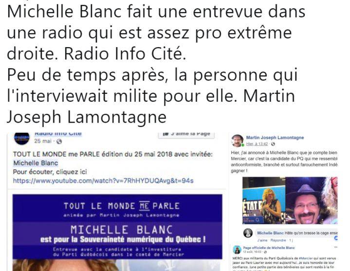 z3 elle passe à la radio de Lamontagne
