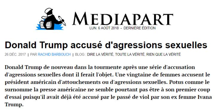 z3 trump agressions