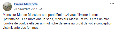 z5 Québec solidaire transphobe