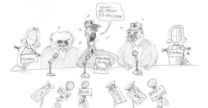 z3c Caricature d'Alex Fatta meute