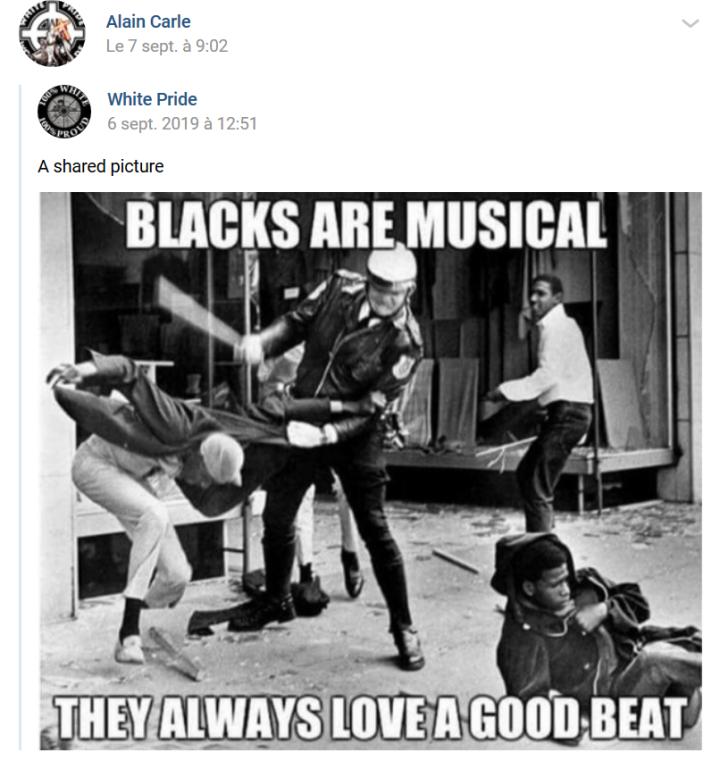 classehaine raciale