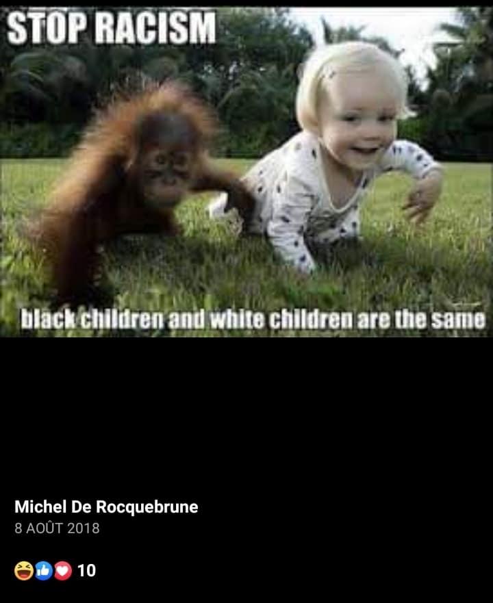 z3ef larocque raciste