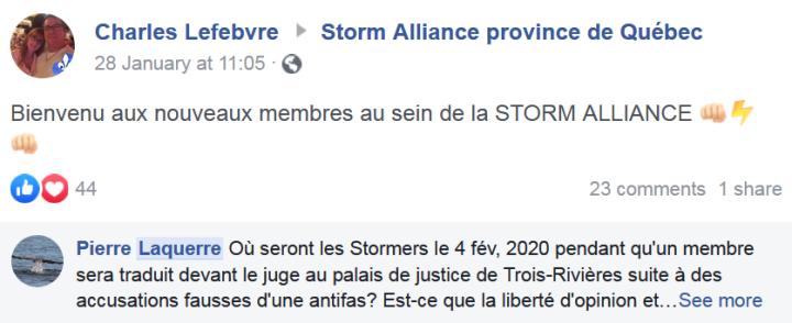 z4 il appelle storm