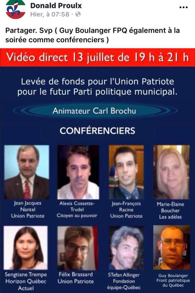 z2gg levée de fonds union patriote